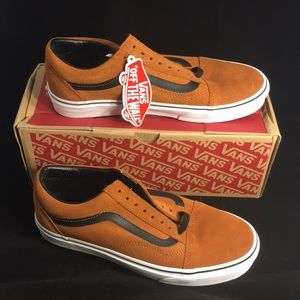 Vans Old Skool Ginger Suede Men's 8/ Women's 9.5